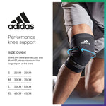 Adidas Knee Support (Medium, Black)