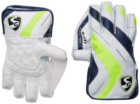 SG League Wicket Keeping Gloves, Youth