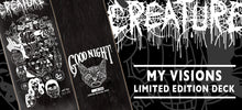Load image into Gallery viewer, Creature My Visions Limited Edition Hand Numbered 8.0 or 8.8 Deck Includes Mob Grip