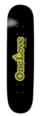 Thank You Jamaica One Love 7.75 8.25 8.5 Deck Includes Mob Grip