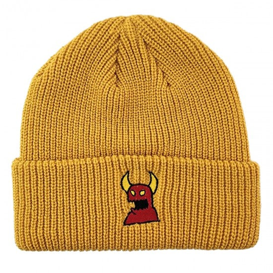 Toy Machine Sketch Monster Mustard Beanie