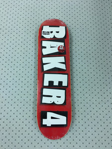 Skateboard Deck Baker 4 8.25 Aboveboard Skateshop Decks Antihero Almost Baker Deathwish Alien Workshop Primitive Real Krooked Santa Cruz Quasi Zero Creature Black Label Powell Peralta Toy Machine 8.75 8.62 8.5 8.375 8.125 8.0 7.75 7.5 Free Shipping