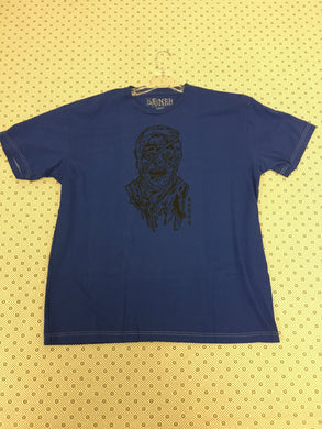 Bones Mummy Blue T-Shirt