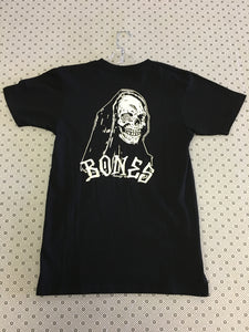 Bones Pocket Skull back Small T-Shirt