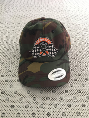 Bronson Speed Co Camo Winners Circles Strapback Hat