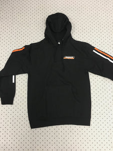 Bronson Speed Co Racing Stripes Pullover Hoodie Medium