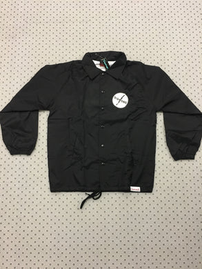 Diamond Windbreaker Button Up Circle Logo size Small