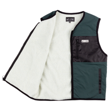 Load image into Gallery viewer, Welcome Cladenstine Sherpa-Lined Hunter Vest