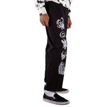 Load image into Gallery viewer, Welcome Black Emblem Printed Pants