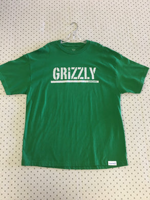 Grizzly Griptape Green 2XL T-Shirt