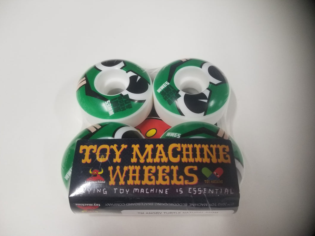 Toy Machine Angry Turtle Natural 53 mm Wheels