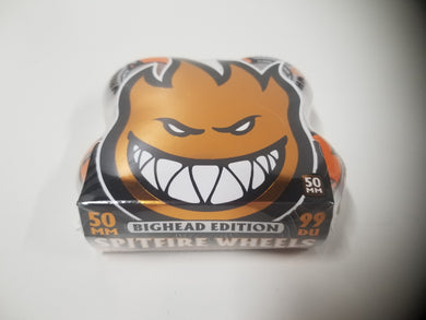 Spitfire Bighead 50mm 99duro Orange Wheels