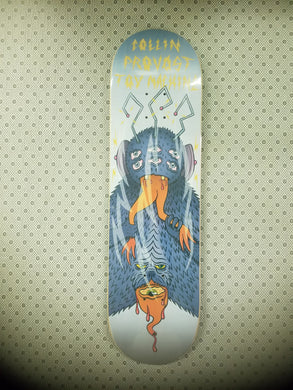 Toy Machine Collin Provost Cannibal Sect Deck 8.38 Includes Black Mob Grip