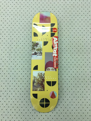 Almost Fragments Yuri Facchini R7 Deck 8.125 Includes Black Mob Grip