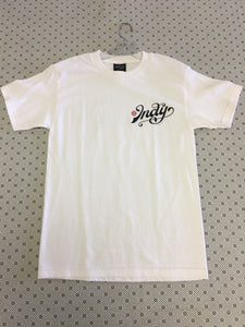 Independent Indy White Small T-Shirt