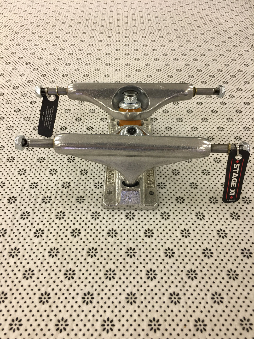 Independent Trucks 139 Polished Silver