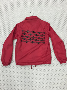 Independent Red Windbreaker Button Up Small