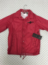 Load image into Gallery viewer, Independent Red Windbreaker Button Up Small