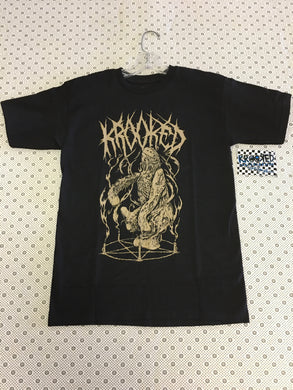 Krooked Pentagram Monster Small T-Shirt