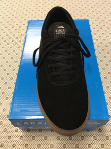 Lakai Sheffield Black Gum Suede Skate Shoes