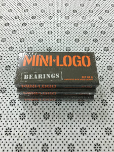 Mini Logo Bearings Single Set of 8