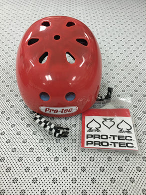 Pro Tec Bucky Solid Red Small Helmet
