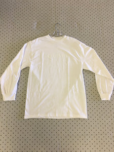 Quasi Wordmark Long Sleeve T-Shirt White