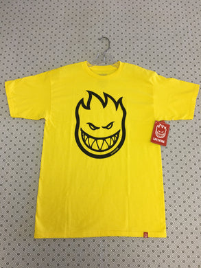 Spitfire Yellow Bighead Medium T-Shirt