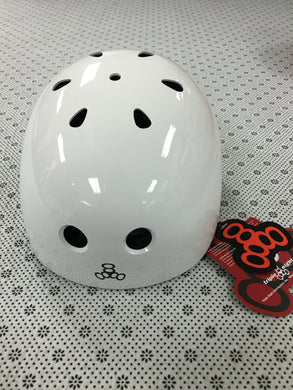 Triple 8 Large The Original White Helmet
