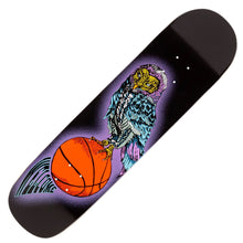 Load image into Gallery viewer, Welcome Hooter Shooter on Bunyip Mid 8.25 Skateboard Deck Includes Mob Grip