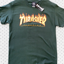 Load image into Gallery viewer, Thrasher Magazine T-Shirt Flames