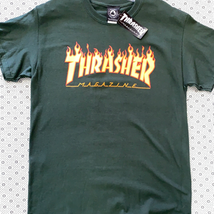 Thrasher Magazine T-Shirt Flames