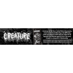Creature My Visions Limited Edition Hand Numbered 8.0 or 8.8 Deck Includes Mob Grip