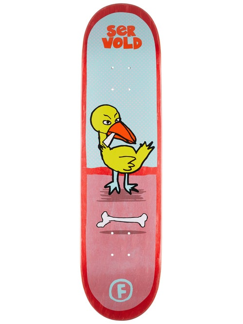 Foundation Servold Duck 8.0 Deck Includes Mob Grip