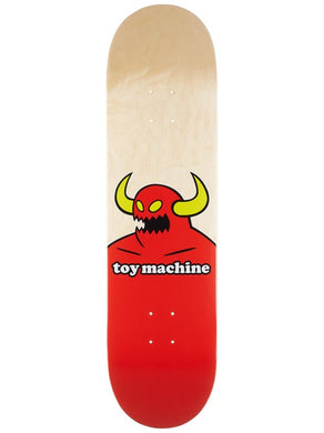 Toy Machine Monster Natural 8.5 Deck Includes Mob Grip