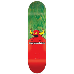 Toy Machine Monster Green 7.38 Deck Includes Mob Grip