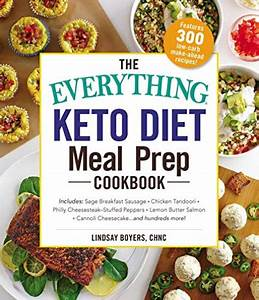 Keto Diet Meal Prep Cookbook