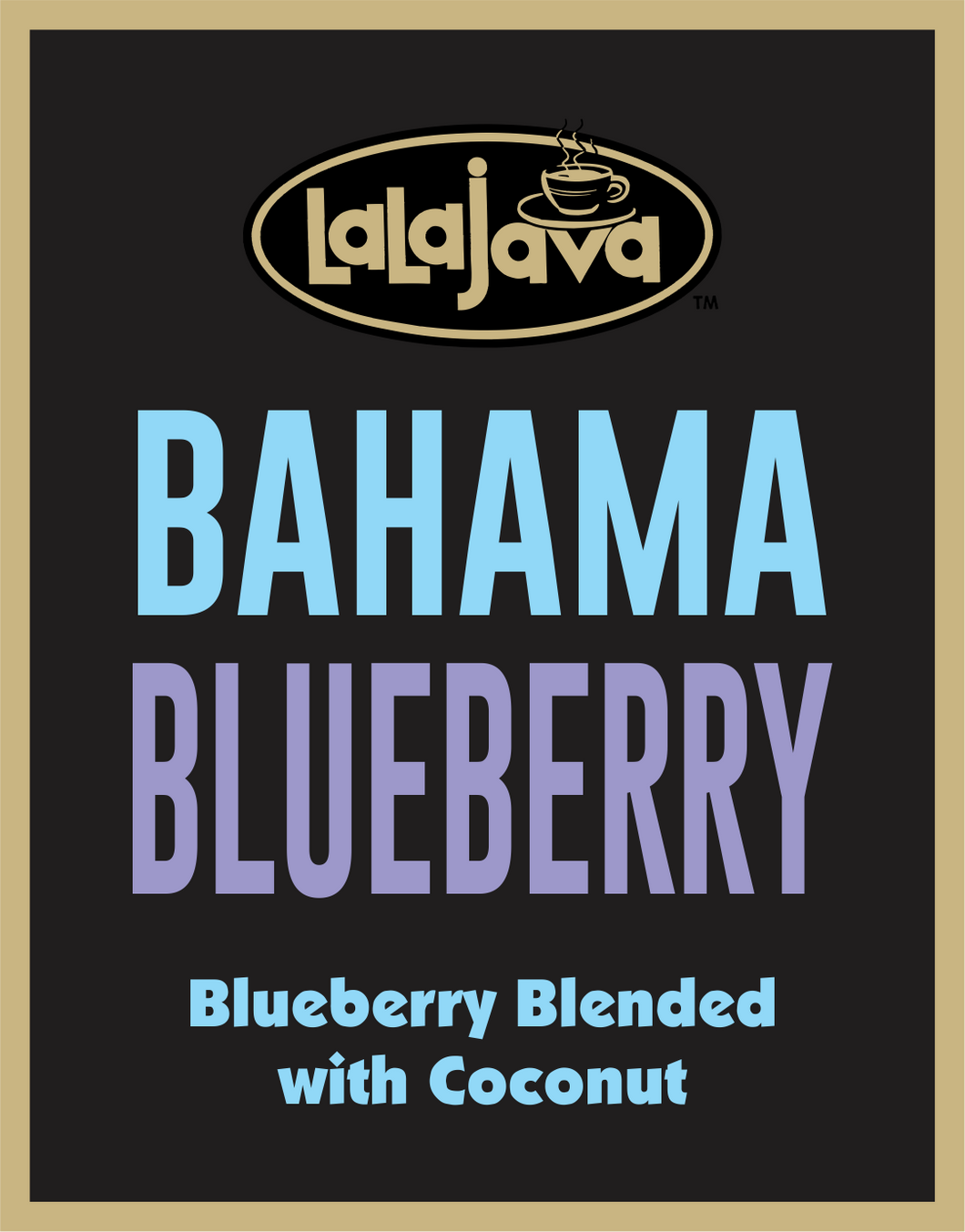 Coffee Bahama Blueberry