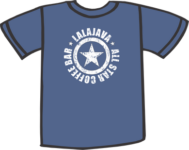 Lalajava T-Shirt All Star Coffee Bar