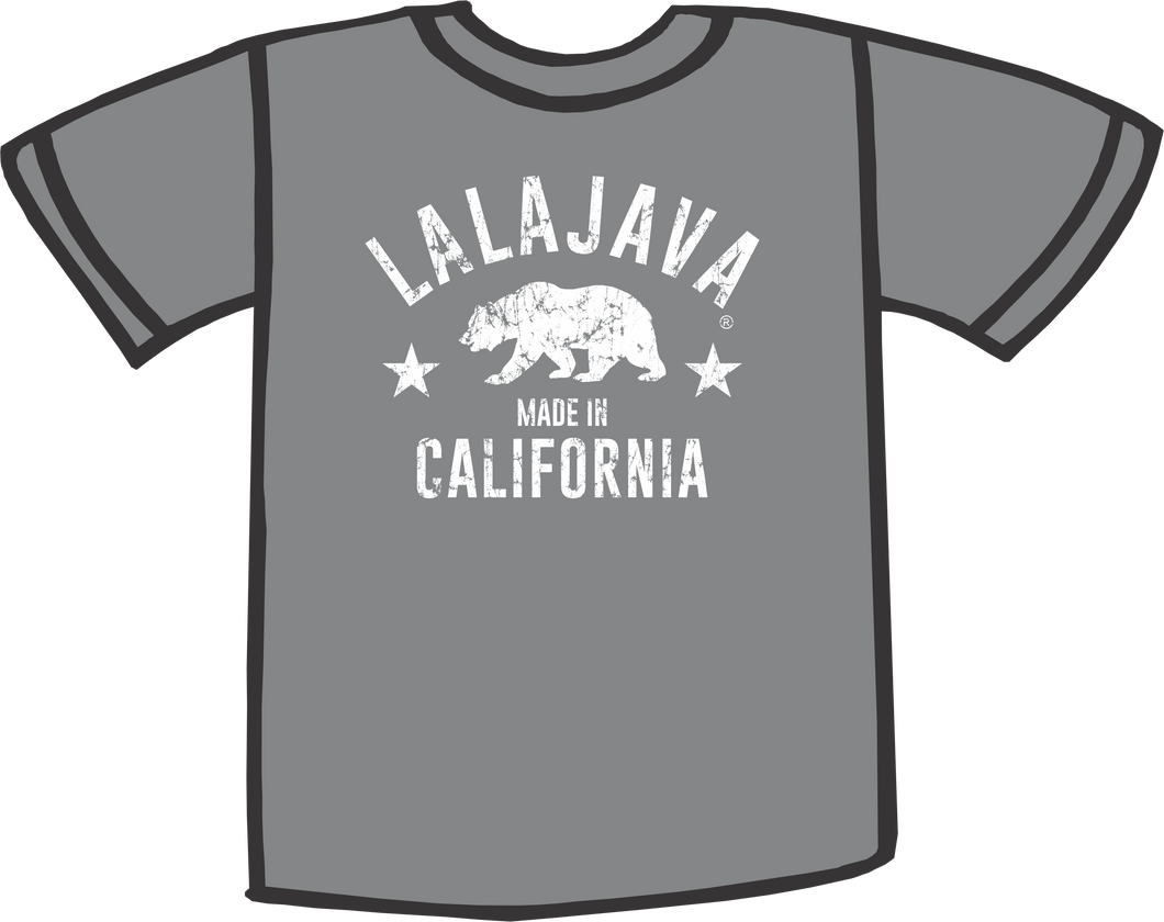 Lalajava T-Shirt California Bear