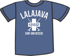Lalajava T-Shirt Surf and Rescue