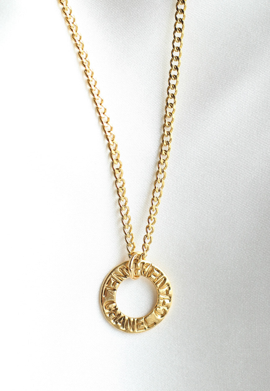Reworked Chanel Pendant Necklace