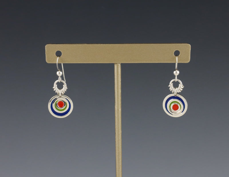 Petite Concentric Circles Earrings