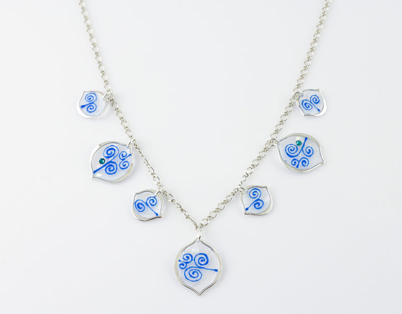 Arabesque Link Necklace
