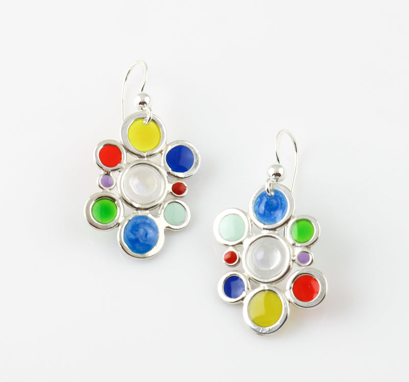 Bubble Ladder Drop Earrings