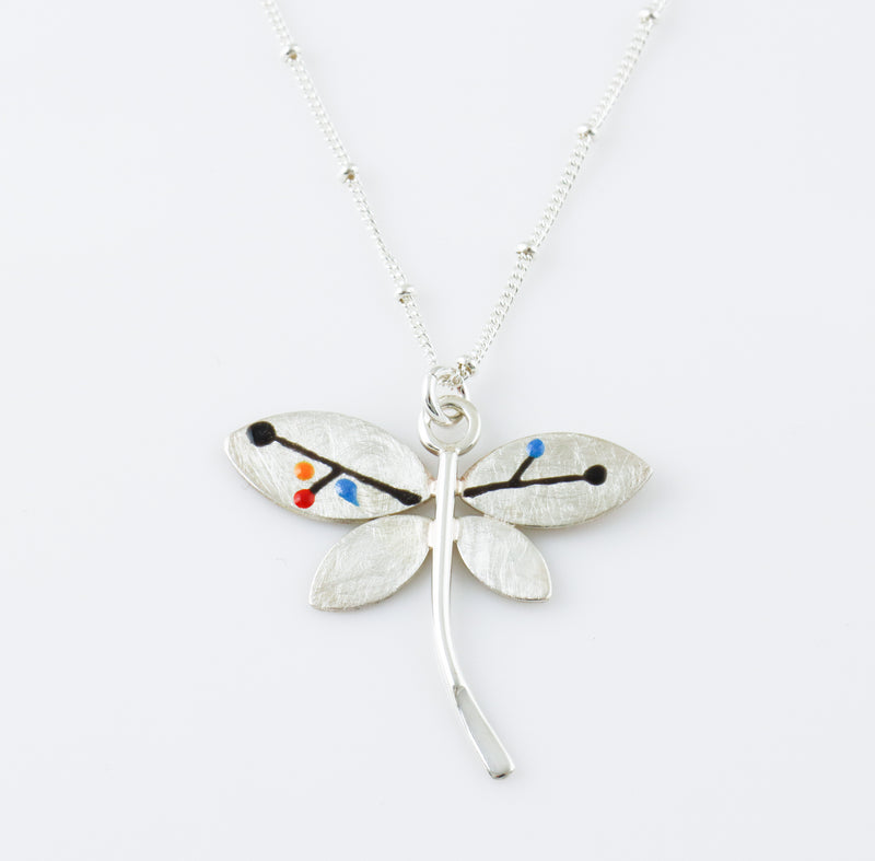 Contemporary Dragonfly Pendant
