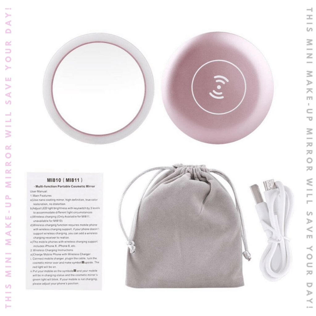 Portable Mini Makeup Mirror