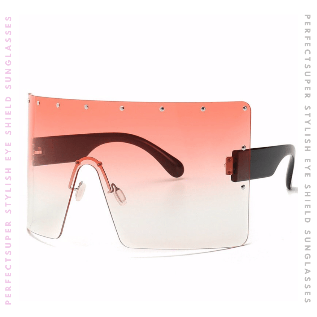Fabulous Oversized Shield Sunglasses