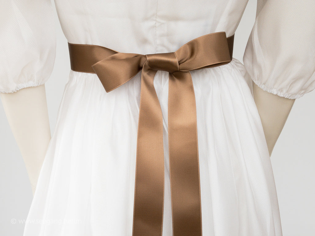 BRIDAL BELT IN MANY SHADES OF BROWN - SWISS QUALITY!