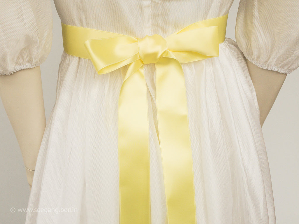 BRIDAL BELT IN MANY SHADES OF YELLOW - SWISS QUALITY!